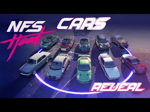 Need For Speed HEAT┃CAR LIST Part 2 (Civic TypeR Aventador R8 ...)