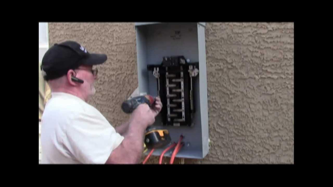 medium resolution of electrical sub panel grounding wiring