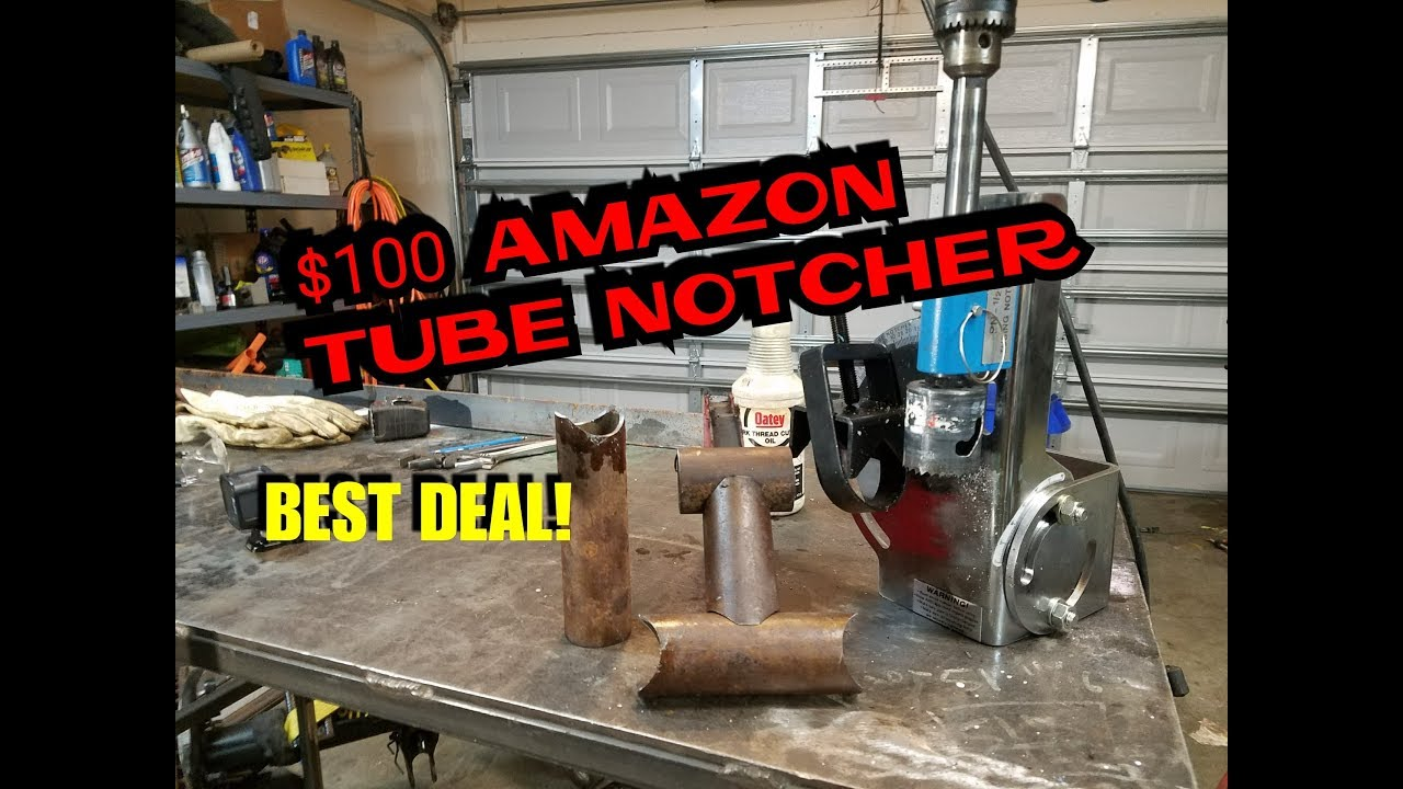 $100 AMAZON TUBE NOTCHER, HIGH QUALITY, BEST REVIEWS