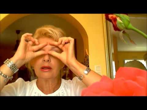 massage contour des yeux