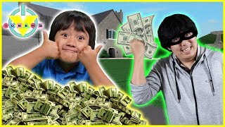 Roblox ROB il MANSION $10,000,000! Giochiamo con Ryan vs Daddy