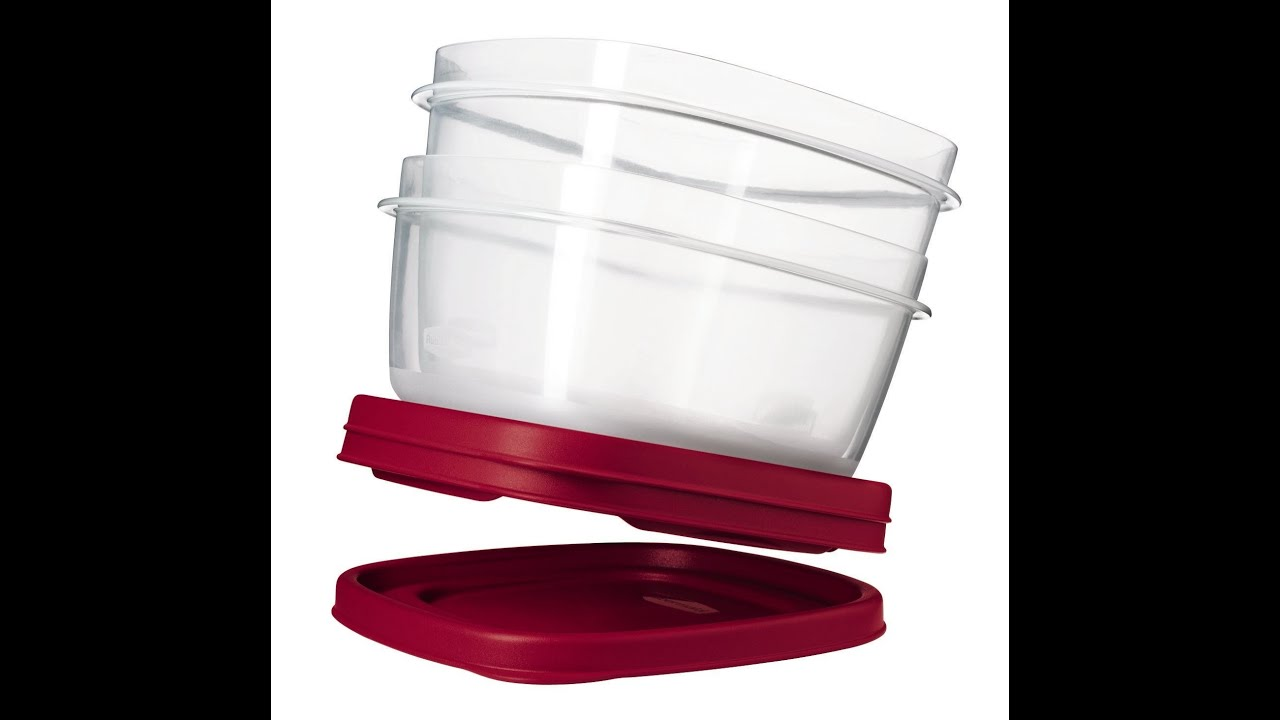 Review Rubbermaid Easy Find Lid Food Storage Container 42-Piece set - YouTube  sc 1 st  YouTube & Review: Rubbermaid Easy Find Lid Food Storage Container 42-Piece ...