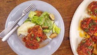 Jacques Pepin's Chicken in Garlic, Vinegar and Tomatoes