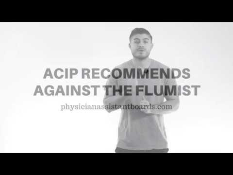 ACIP recommends against the Flumist