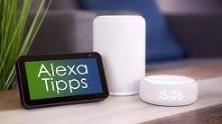 Die besten Tipps, Tricks & Skills für Alexa! - felixba