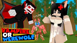 Monster School CROOK vs BOSS VAMPIRES vs WEREWOLVES Minecraft Animation
