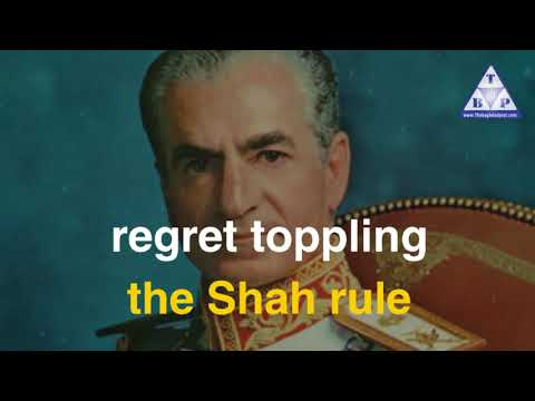 Iranians regret toppling the Shah