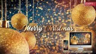New Year Christmas Wishes 2020 After Effects Project