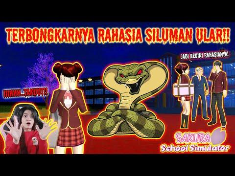 HOROR STORY!! TERBONGKARNYA RAHASIA SILUMAN ULAR - TAMAT!! SAKURA SCHOOL SIMULATOR INDONESIA-Part 43