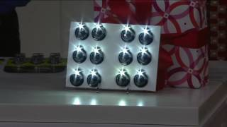 Panther Vision Set of 12 Ultra Bright LED Button Lamps on QVC