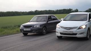 Hyundai Solaris АТ VS Hyundai Accent
