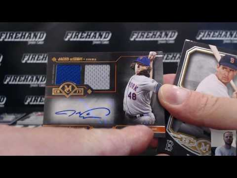 2017 Topps Museum Collection Baseball 6 Box Half Case Break Random Teams #1 ~ 6/21/17