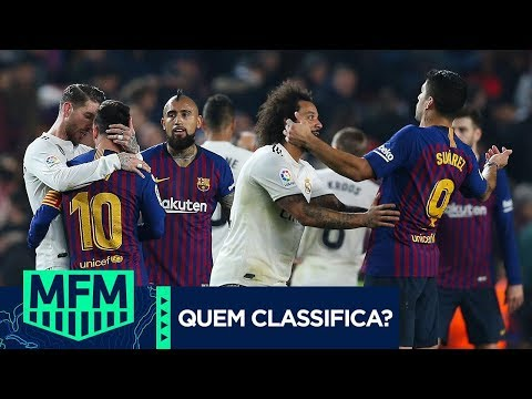 BARCELONA OU REAL MADRID: QUEM VAI PRA FINAL DA COPA DO REI? - MFM DEBATE (27/02/19)