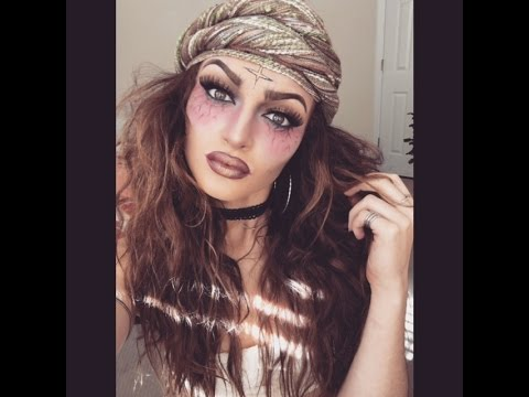 Fortune Teller Makeup Tutorial  Inspired by Nichole Guerriero ...
