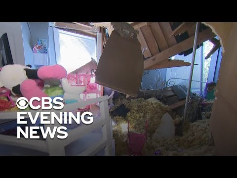 Florida families  devastated  by damage left by Hurricane Michael