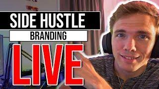 🔴Side Hustle - Branding   Daily Standup   @joshuafluke everywhere