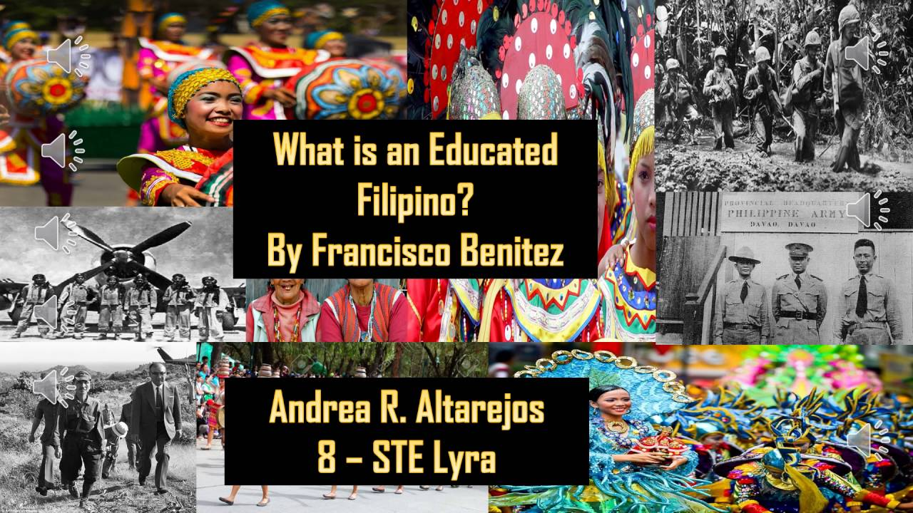 what is an educated filipino Education is vital both here on earth and into the eternities elder pinnock gives characteristics of educated persons and how they make the world better.