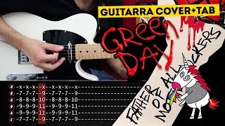 Father of All... Green Day Guitarra Cover Tablatura | Marcos García
