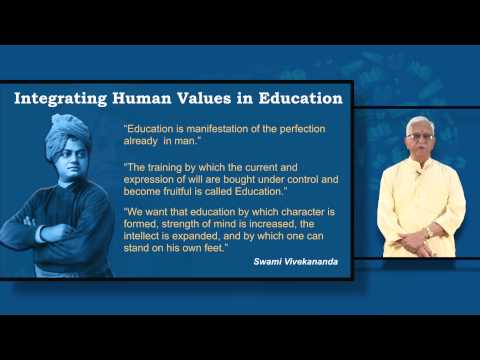 Integrating Human Values in Education