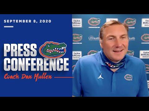 Florida Football: Dan Mullen Press Conference 9-8-20