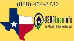 USDA Loans Texas | (888) 464-8732