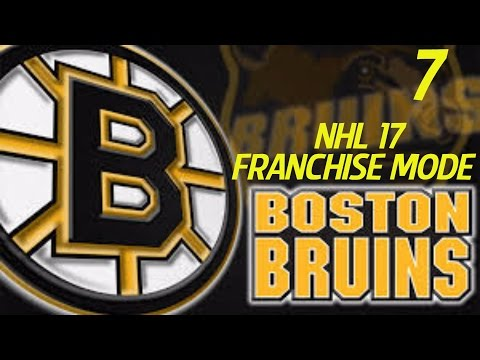 NHL 17 Franchise Mode: Boston Bruins S1 Episode 7 // Redo (XBone)