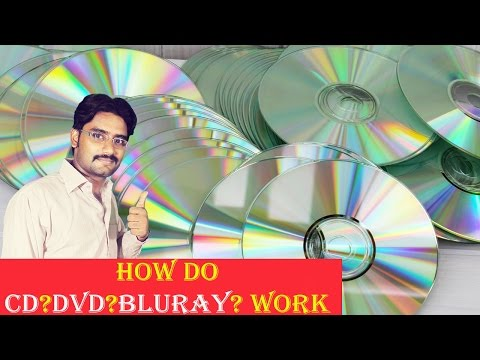 How Do CDs,DVDs,BluRays Work | Explained in [Hindi/Urdu]