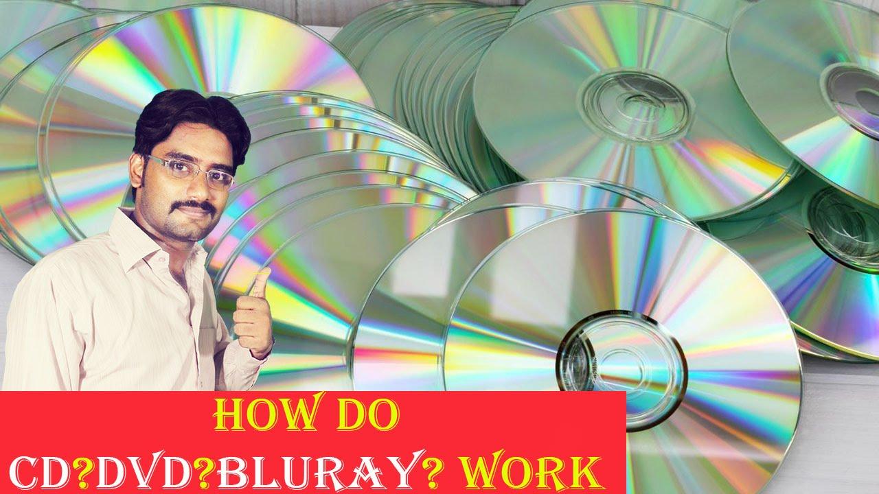 How Do Cdsdvdsblurays Work Explained In Hindiurdu Youtube