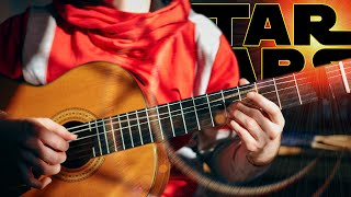 Star Wars - Cantina Band (fingerstyle classical guitar cover) with Tabs