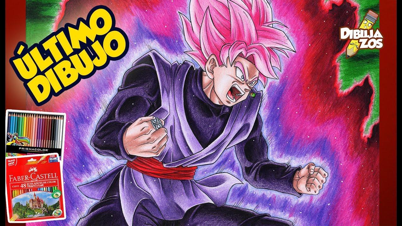 Black Goku Para Colorear: COMO DIBUJAR A BLACK GOKU SSJ ROSE