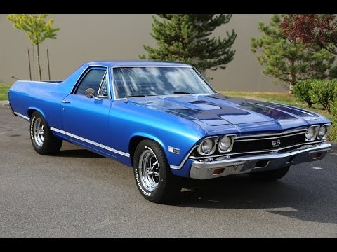 1968 Chevy El Camino   Mainly Muscle Cars Test Drive   YouTube 1968 Chevy El Camino   Mainly Muscle Cars Test Drive