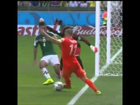 Robben's dive against Mexico