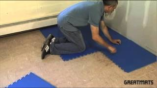 Foam Tiles - Easy Installation Video - Greatmats