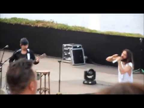 Church of Mars-StTropez/Citadelle 30 Seconds To Mars (1h05) 24/07/14