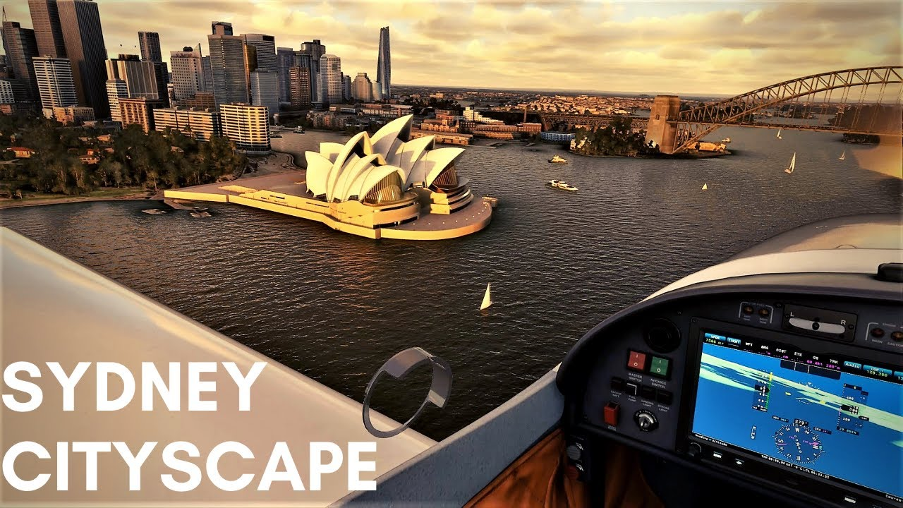 MSFS - ORBX Sydney is a Masterpiece - YouTube