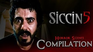 SİCCİN 5 - Movie | Best Horror Scene Compilation Part 2 |  Merve Ates | Selim Aydin | Ece Baykal