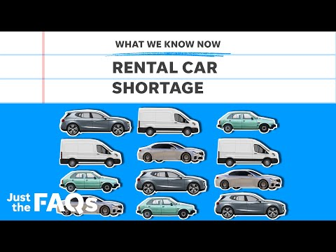 Car rental shortage and impact on summer travel, explained   Just the FAQs