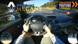 Renault Megane CC 1.6 16V (81kW)   4K TEST Drive POV - Acceleration, Brakes & Sound...