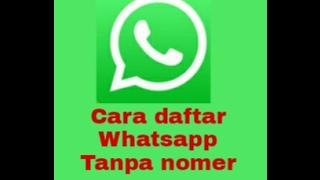 Cara daftar whatsapp pake nomer luar negeri