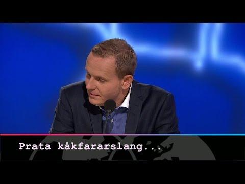Kåkfararen Måns Möller får tips från coachen - Parlamentet (TV4)
