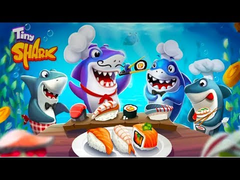 Tiny Sharks Android - Money Tycoon Games - Gameplay ᴴᴰ