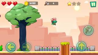 Jungle Adventures: Super World - Sahara Level 8... Gameplay (Free Game On Android)