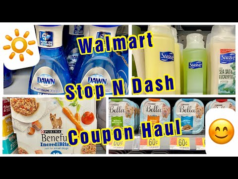 WOW ⁉️ |  🔆 WALMART COUPON HAUL  | 100 % Successful 🤗 | $8.01 for 18 Items ($0.44 Cents an Item)
