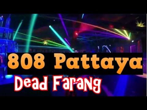 Crazy Nightclub Lighting Display at 808 Club Walking Street Pattaya Thailand