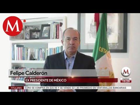 Calderón le responde a Durazo y AMLO por acusaciones de Policía Federal