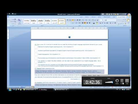 How to make your online visa application to the UK Border Agency from YouTube · Duration:  3 minutes 34 seconds