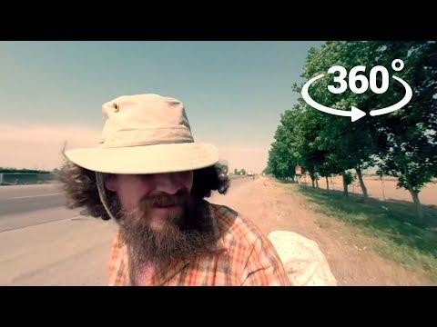360° Walk - Iran, May 24th 2018: The Loud Road