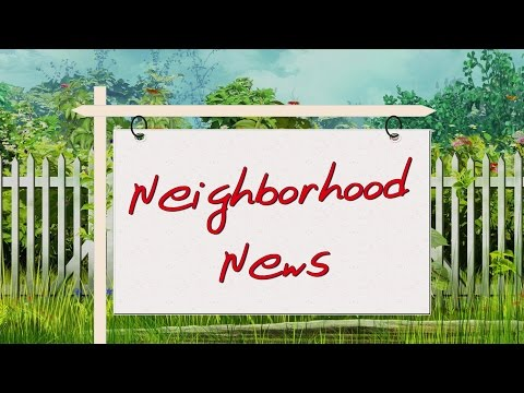 Neighborhood News - August 6, 2014 (Portuguese)