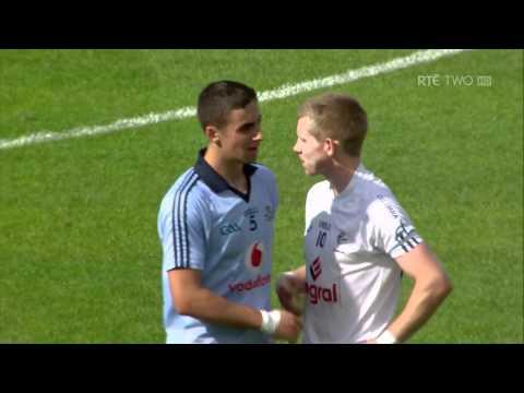 Bernard Brogan controversial winning point Dublin v Kildare HD
