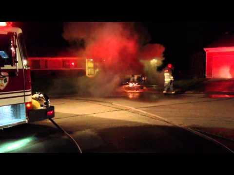 Wayne Township Fire Department - Car Fire